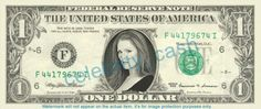 JULIANNE MOORE on REAL Dollar Bill Cash Money Memorabilia Collectible Celebrity