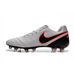 new concept b84db e5d54 Nike Tiempo Legend 6 FG - Low Price Mens Cleats Pure Platinum Black Orange