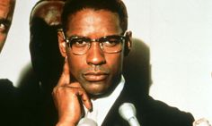 X man ... Denzel Washington in Spike Lee's Malcolm X (1992). All photographs: Ronald Grant Archive