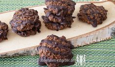 Low Carb Kaffee Kekse (Coffee Cookies)