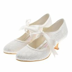 Amazon.com: Topwedding Elegant Round Toe Bridal Pump Shoes Women: Shoes