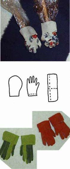 Garden Gloves Template & visual ideas - Source: Susan's Creative Designs