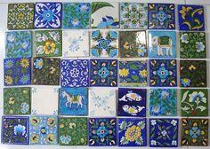 Piastrelle, Blue Pottery