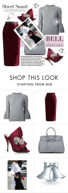 """""""Senza titolo #841"""" by francescar ❤ liked on Polyvore featuring Carolina Herrera, Roland Mouret, N°21, Bling Jewelry and Agnes de Verneuil"""