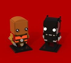 BrickHeadz: Okoye & Black Panther