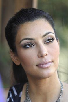 Kim Kardashians ponytail hairstyle