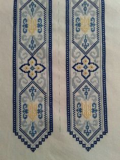 Folk Embroidery, Beaded Embroidery, Cross Stitch Embroidery, Embroidery Patterns, Cross Stitch Patterns, Diy And Crafts, Bohemian Rug, Tapestry, Ornament