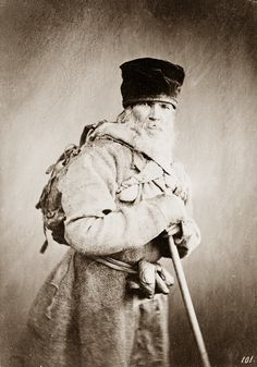 Old Russian Peasant 1860's