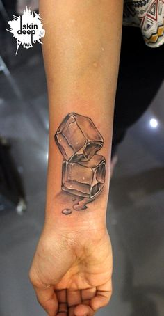ice cube tattoo