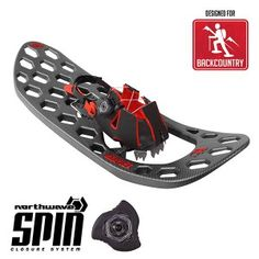 $199.99   NEW for 2016 one-piece over-molded frame with SPIN™ binding system and SPIKE™ traction for maximum flexibility, traction and snow flotation