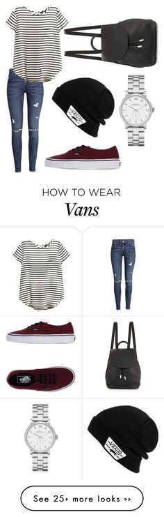 """Vans Front Page"" by superwoman2014 on Polyvore featuring Vans, H&M, rag & bone and Marc by Marc Jacobs"