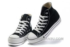 d9bd5dd37202 Black Platform CONVERSE All Star Canvas Women Shoes Classic 2016 Sale New