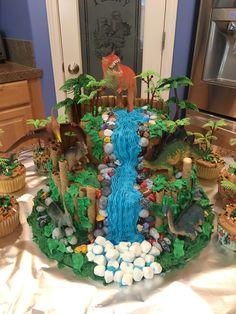 Dino cake for C's birthday. Dino cake for Cs birthday. Dinosaur Cakes For Boys, Dinosaur Birthday Cakes, Dinosaur Party, Special Birthday Cakes, 3rd Birthday Parties, 4th Birthday, Birthday Cakes For Boys, Birthday Ideas, Snowflake Wedding Cake