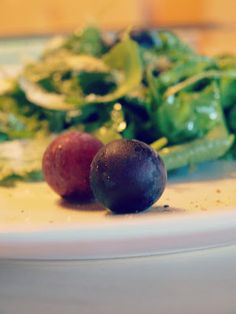Rucola-Trauben-Salat:) Chutney, Sprouts, Easy, Mango, Magazine, Vegetables, Food, Manga, Veggie Food