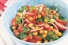 This colourful salad gets a big tick from us - it's low-fat, great value and vegetarian too!