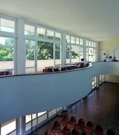 Detalhe interno do prédio onde funciona a Secretaria Municipal de Cultura, criado por Aldary Toledo.