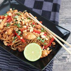Pad Thai met kip - Mariëlle in de Keuken