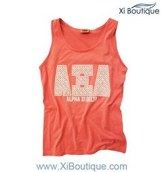 Yes and Yes to the Xi Boutique Watermelon Comfort Colors Tank