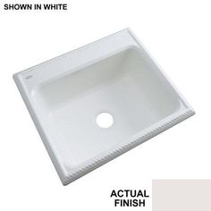 Thermocast Wentworth 25 In. x 22 In. Cast Acrylic Single Bowl Kitchen Sink Fawn Beige *** You could locate more information by seeing the image web link. (This is an affiliate link). Best Kitchen Faucets, Kitchen Fixtures, Fireclay Sink, Cast Acrylic, Single Bowl Kitchen Sink, Stainless Steel Kitchen, Cool Kitchens, It Cast, Beige