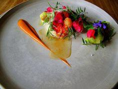 Noma - Råstegt hummer og salat root; hybenrose og ribs vin 15 by Food Snob, via Flickr