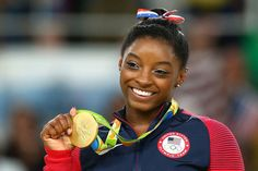 If you've been watching the 2016 Summer Olympics, you've probably heard the name of one gymnast a whole lot: Simone Biles.   Simone Biles Finally Met Zac Efron And She Couldn't Handle It