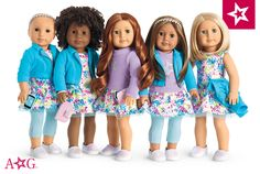 Together with a Truly Me doll, your girl can express herself and explore even more with a brand new best friend.