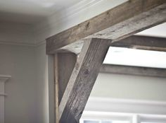 Love wood beams