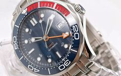 Parnis GMT Seamaster Amazing Watches, Time Travel, Omega Watch, Accessories