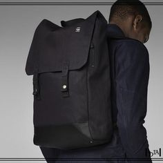 G STAR raw docklam backpack. Pour porter un sac à dos sans se faire traiter d'adolescent / To have a backpack without be treated as a teenager. 1d1fa
