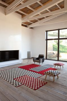 Nani Marquina rugs designed by Sybilla