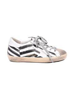 GOLDEN GOOSE Golden Goose Sneakers Superstar White Flag. #goldengoose #shoes #