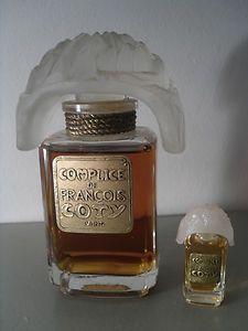 Coffret perfume collectibles COTY François (avec images