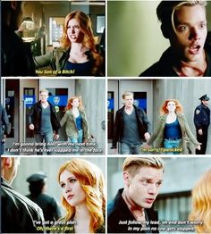 "Jace ""I can't believe Clary really slapped me"" Herondale"