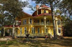 Lapham-Patterson House, 1885, Thomasville | Vanishing South Georgia Photographs by Brian Brown