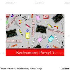 Nurse or Medical Retirement Card