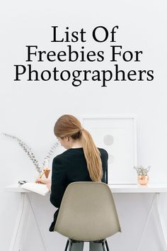 List of freebies for photographers. More