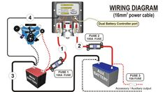 dual battery wiring campervan > wiring Pinterest