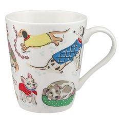Cath Kidston Dogs white Stanley mug