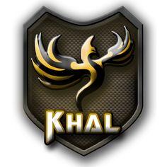#Logo #Team Khal #photoshop #gaming #art #logodesign #logoteam #logogame #photoshopcs6 #blason #jaune #art #artiste #artwork #phénix #MMI #DUTMMI