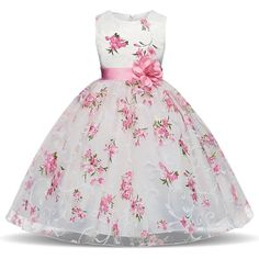 Clothing, Shoes & Accessories 3t Disney Princess ~floral Lace Ruffle Gown~ Girls Sz 2t