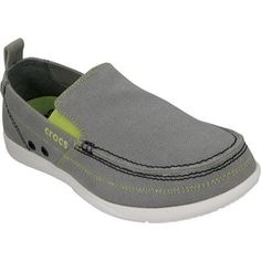 42d6dcf35cad27 Men s Crocs Walu Light Grey White (US Men s 11 M (Regular))