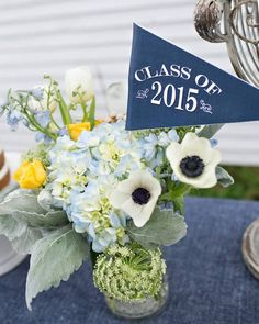 Keys to Success Denim Graduation Party via Kara's Party Ideas | KarasPartyIdeas.com (40)