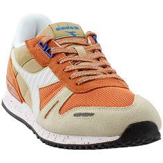 Buy Diadora Mens Titan Speckled Casual Sneakers at Wish - Shopping Made Fun Suede Sneakers, Casual Sneakers, Sneakers Nike, Diadora Titan, Adidas Campus, Adidas Shoes Women, Orange Shoes, Black Sandals, Air Jordans