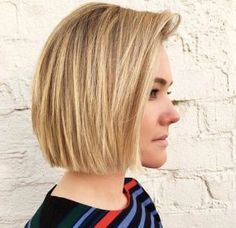 Straight blunt bob by KC Carhart