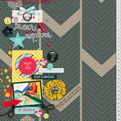 What We Learn Kit by Mye De Leon Clean and Simple N.18 Template Set by Sabrina's Creations