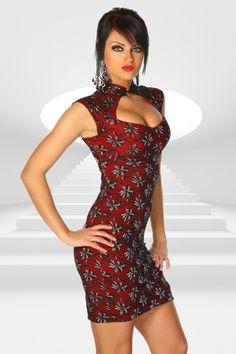 #Minikleid in #Asia #Stil #Rot My-Kleidung Onlineshop Preis: 29,50 Euro