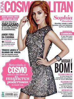 Actress,Singer, Model @ Sophia Abrahao - Cosmopolitan Brasil, Abril 2015