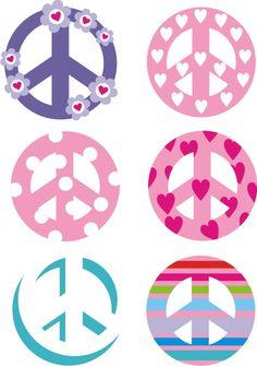 Simbolos simbolos pinterest s mbolos fondos blanco for Camisetas hippies caseras