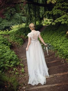 Lace Wedding, Wedding Dresses, Anna, Fashion, Bride Dresses, Moda, Bridal Gowns, Alon Livne Wedding Dresses, Fashion Styles