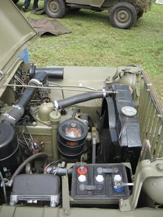 engine from battery side